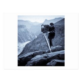 Grand Canyon Photographer Large Movie Camera Postcard