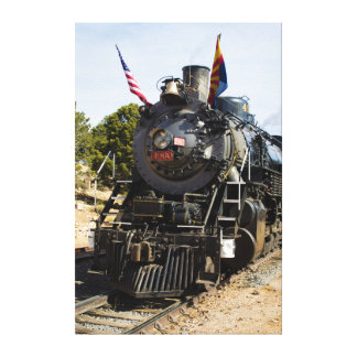 Grand Canyon Railway steam engine 4960 Stretched Canvas Prints