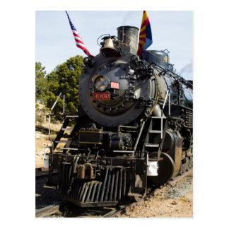 Grand Canyon Railway steam engine 4960 Postcard