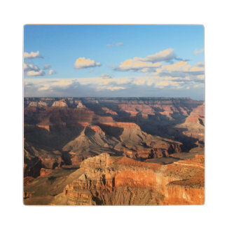 Grand Canyon seen from South Rim in Arizona Wood Coaster