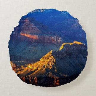 Grand Canyon South Rim Round Cushion