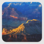 Grand Canyon South Rim Square Sticker