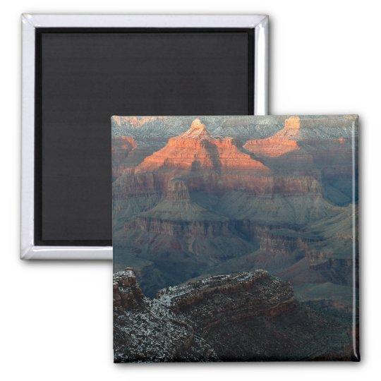 Grand Canyon Sunrise Square Magnet
