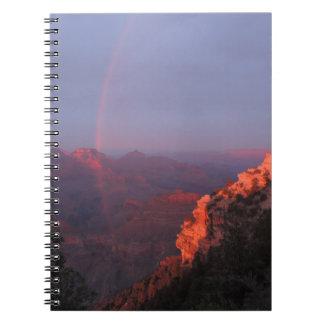 Grand Canyon Sunset Rainbow Notebooks