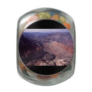 Grand Canyon Glass Candy Jar