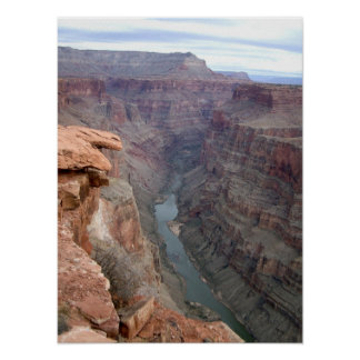 Grand canyon toroweep point poster