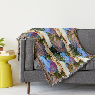 Grand Canyon Tree Throw Blanket