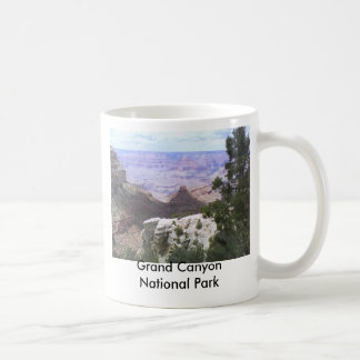 Grand Canyon View Basic White Mug