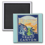Grand Canyon - Vintage Travel Magnet