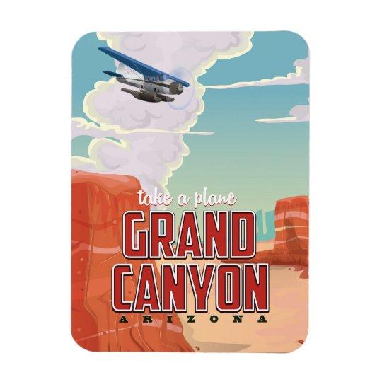 Grand Canyon vintage travel poster Rectangular Photo Magnet