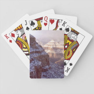 Grand Canyon Winter Poker Deck