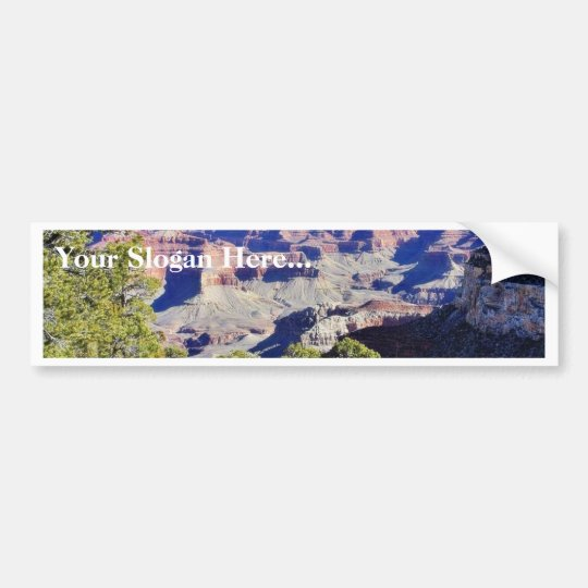 Grand Canyons Hills Bumper Sticker