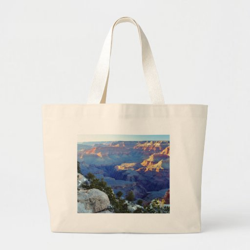 Grand Canyons Sunset Yaki Point Canvas Bag