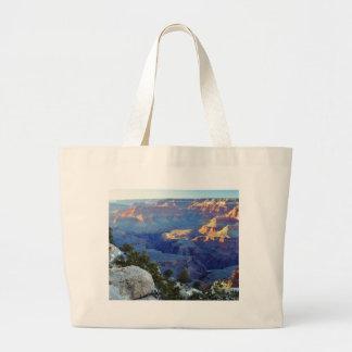 Grand Canyons Sunset Yaki Point Jumbo Tote Bag