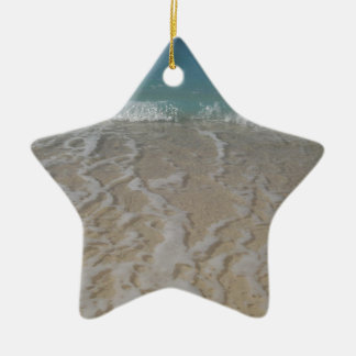 Grand Cayman Beach Christmas Ornament
