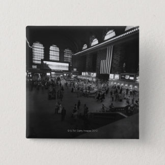 Grand Central Station 15 Cm Square Badge