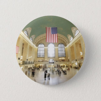 Grand Central Station 6 Cm Round Badge