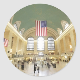 Grand Central Station Classic Round Sticker