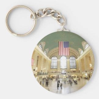 Grand Central Station Key Ring