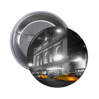 Grand Central Station New York 6 Cm Round Badge