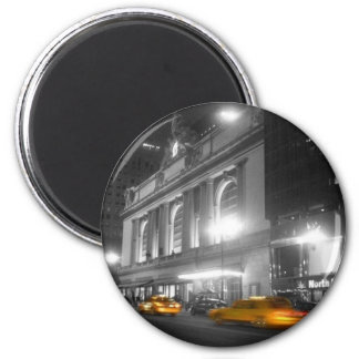 Grand Central Station New York 6 Cm Round Magnet