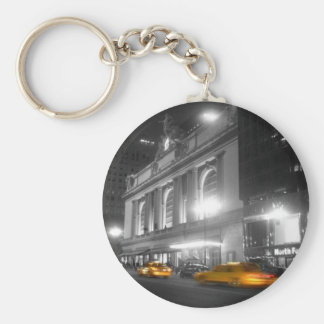 Grand Central Station New York Basic Round Button Key Ring