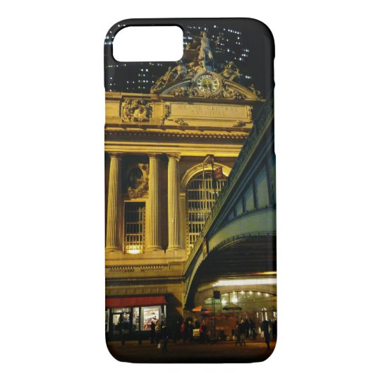 Grand Central Station - Night - New York City iPhone 8/7 Case