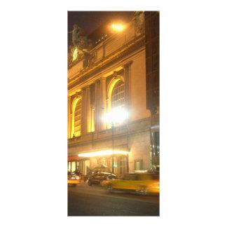 Grand Central Station, NYC Rack Card Design