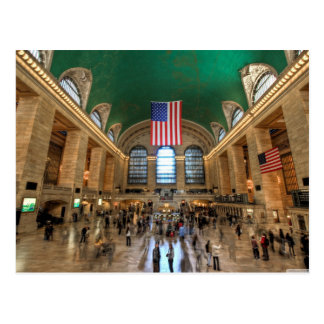 Grand Central Terminal in NYC Postcard