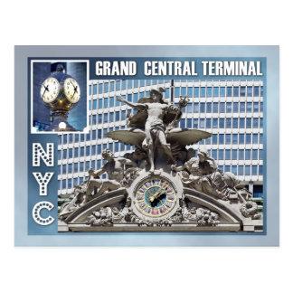 Grand Central Terminal, NYC Postcard