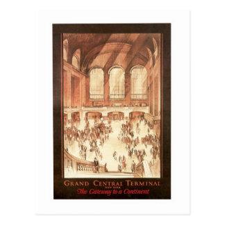 Grand Central Terminal Postcard