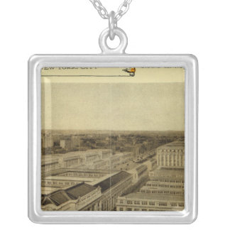 Grand Central Terminal Silver Plated Necklace
