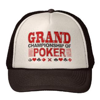 Grand Championship of Poker Trucker Hat