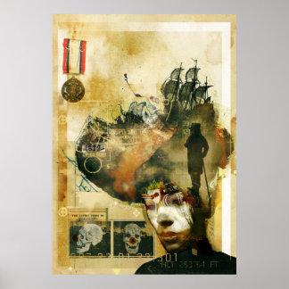"""""""Grand Cirque du Messie Loyal"""" - 2500 86x61 Print"""