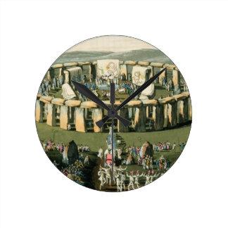 Grand Conventional Festival of the Britons, aquati Wallclocks