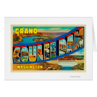 Grand Coulee Dam, Washington 2 Cards