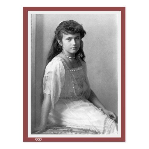 Grand Duchess Anastasia Nikolaevna of Russia 1914 Post Card