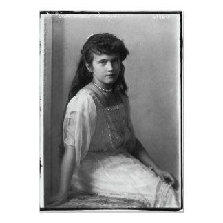 Grand Duchess Anastasia Nikolaevna of Russia Card
