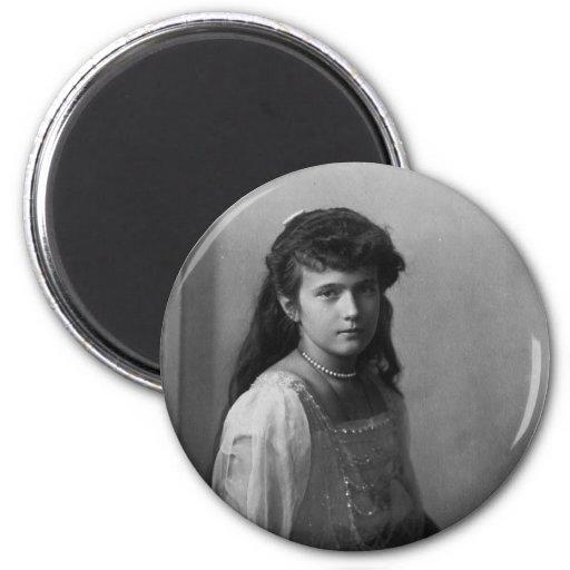 Grand Duchess Anastasia Nikolaevna of Russia Magnet
