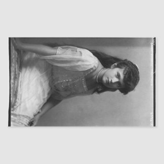 Grand Duchess Anastasia Nikolaevna of Russia Rectangular Sticker