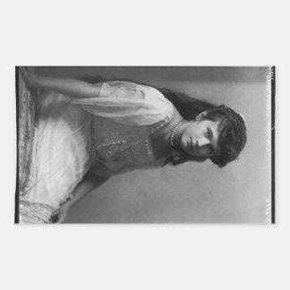 Grand Duchess Anastasia Nikolaevna of Russia Rectangular Sticker