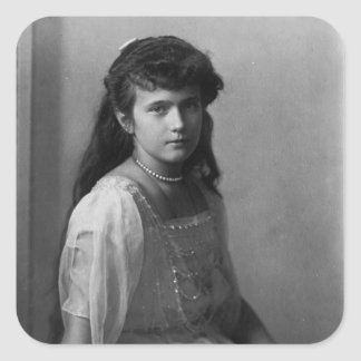Grand Duchess Anastasia Nikolaevna of Russia Square Sticker