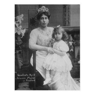 Grand Duchess Victoria Melita Russia & Marie #269 Postcard