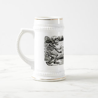 Grand Electric Skull Stien Beer Steins