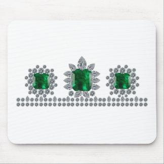 Grand Emerald Tiara Mousepad