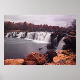Grand Falls, Joplin, Missouri Poster