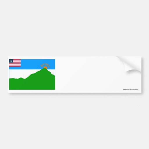 Grand Gedeh County Flag Bumper Stickers