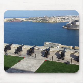 Grand Harbor in Malta Mouse Mat