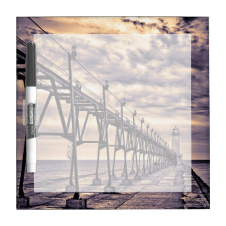 Grand Haven lighthouse and pier, Grand Haven Dry Erase Board