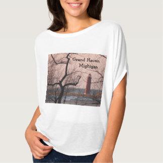 Grand Haven Lighthouse - Michigan Tshirts